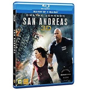 San Andreas (3D + Blu-ray)