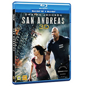 San Andreas (3D Blu-ray + Blu-ray)