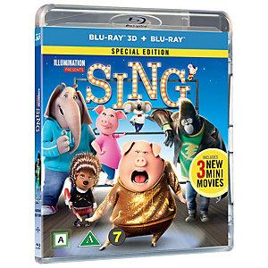 Sing (3D Blu-ray + Blu-ray)