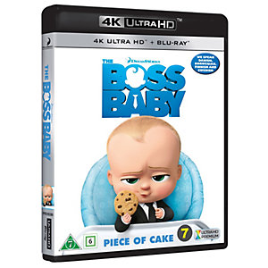 The Boss Baby (4K UHD Blu-ray)