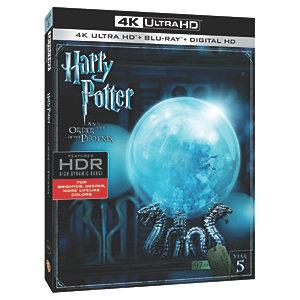 Harry Potter og Føniksordenen (4K UHD Blu-ray)