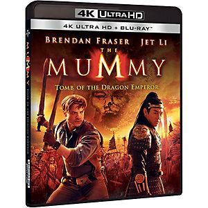 Mumien: Dragekeiserens grav (4K UHD Blu-ray)