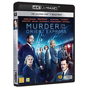 Mordet på Orientexpressen (4K UHD)