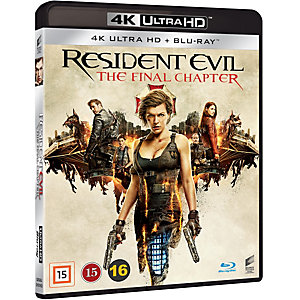 Resident Evil: The Final Chapter (4K UHD)