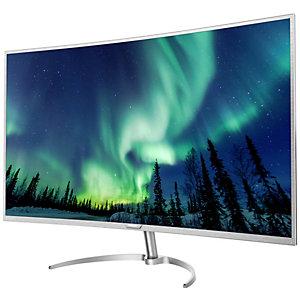 """Philips BDM4037UW 40"""" 4K buet skjerm (sølv)"""