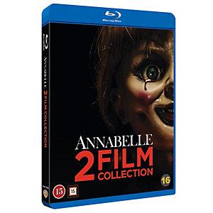 Annabelle: Samlingsbox med 2 filmer (Blu-ray)