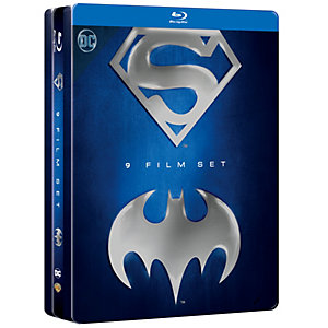 Batman & Superman Anthology Tin (Blu-ray)
