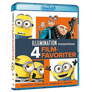 Illumination 4 - Movie Collection (Blu-ray)