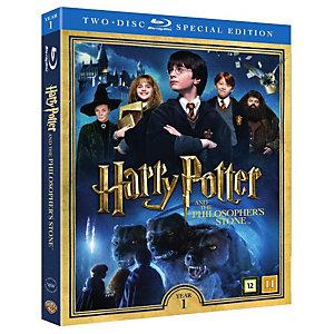 Harry Potter 1 + dokumentti (Blu-ray)