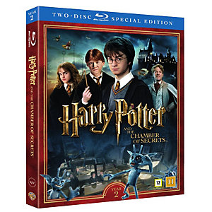 Harry Potter 2 + dokumentti (Blu-ray)