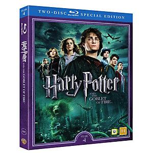 Harry Potter 4 + dokumentti (Blu-ray)
