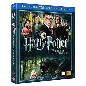 Harry Potter 5 + dokumentti (Blu-ray)