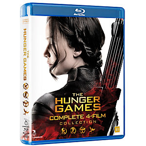 Hunger Games 1-4 - Complete Box (Blu-ray)