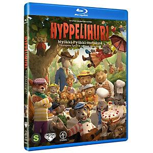 Hyppelihiiri Myökki Pyökki metsässä (Blu-ray)