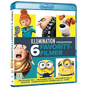 Illumination 6-films samling (Blu-ray)
