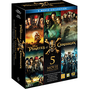 Pirates of the Caribbean - 5 Movie Collection (Blu-ray)