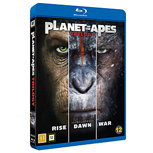 Platet of Apes - Trilogy (Blu-ray)