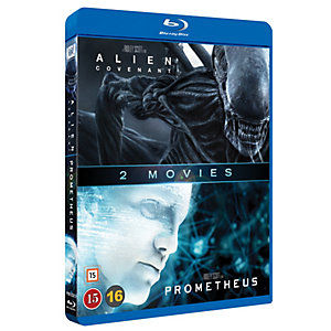 Alient: Covenant / Prometheus Boxset (Blu-ray)
