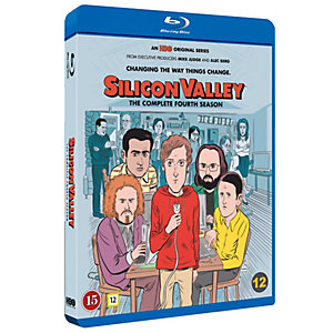 Silicon Valley - Säsong 4 (Blu-ray)