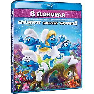 Smurffit 1-3 kokoelma (Blu-ray)