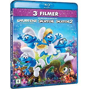 Smurfene 1-3 Samleboks ( Blu-ray)
