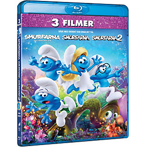 Smurfs 1-3 Box (Blu-ray)