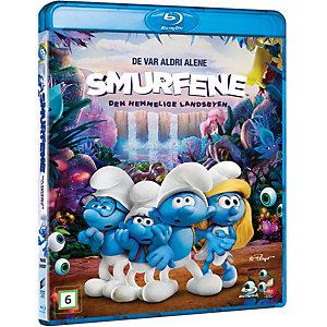 Smurfene: Den hemmelige landsbyen (Blu-ray)