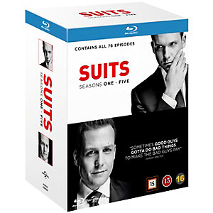 Suits - Säsong 1-5 (Blu-ray)