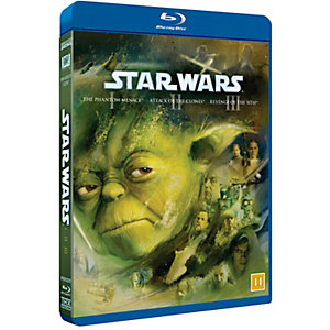 Star Wars 1-3 Prequel Trilogy Box (Blu-ray)