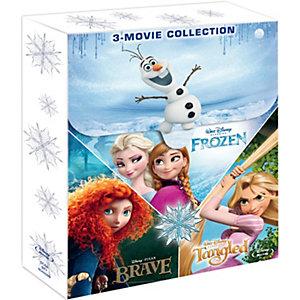 Disney vinter-box: Frost, Modig, Trassel (Blu-ray)