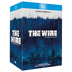The Wire - Säsong 1-5 Complete Box (Blu-ray)