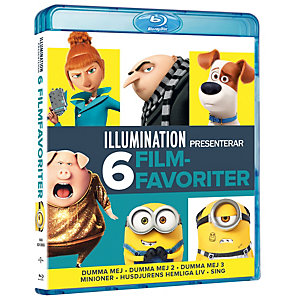 Illumination 6-Movie Collection (Blu-ray)