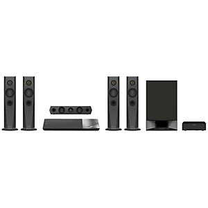 Sony 5.1 kotiteatteri 3D Blu-ray BDV-N7200W (musta)