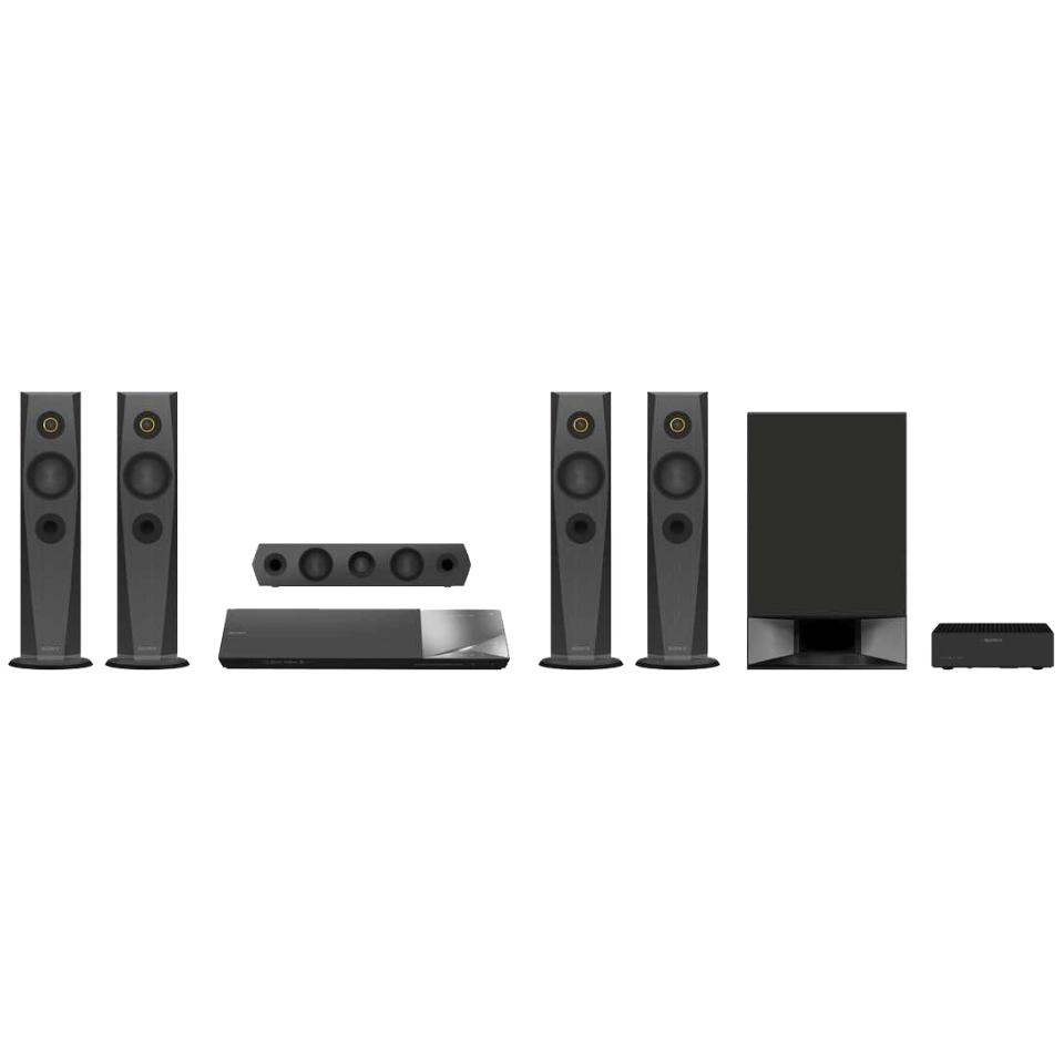 Inredning koppla hemmabio : Sony 5.1 Hemmabio 3D Blu-ray BDV-N7200W (svart) - Hemmabio och ...