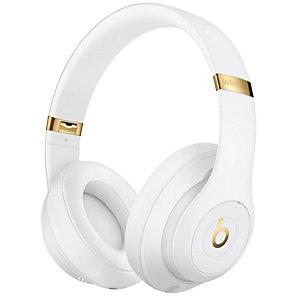 Beats Studio3 trådløse around-ear hodetelefoner (hvit)