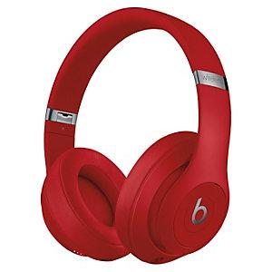 Beats Studio3 trådlösa around-ear hörlurar (röd)