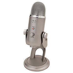 Blue Microphones Yeti USB mikrofoni (platina)