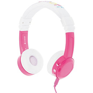 BuddyPhones InFlight on-ear-kuulokkeet (pinkki)