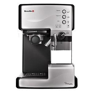 Breville Prima Latte kaffemaskin 203041 (sølv)