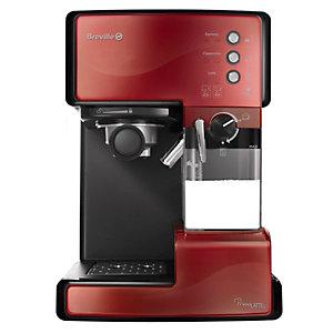 Breville Prima Latte kaffemaskin 203042 (röd)
