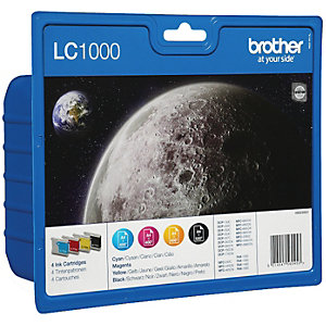 BROTHER INK LC1000 SERIES VALUE PACK