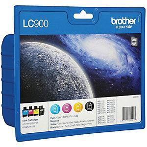 Brother LC-900VAL Bläckpatron - 4 st färger