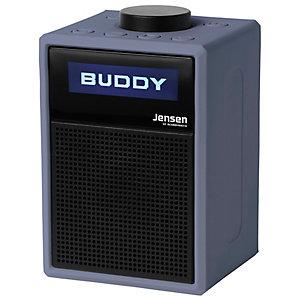 Jensen Buddy DAB Lite kannettava FM-radio (sininen)