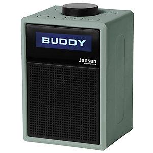 Jensen Buddy Lite kannettava FM-radio (vihreä)