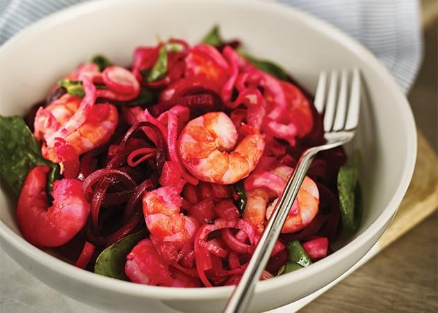 Kenwood Spiralizer lar grønnsakene stråle