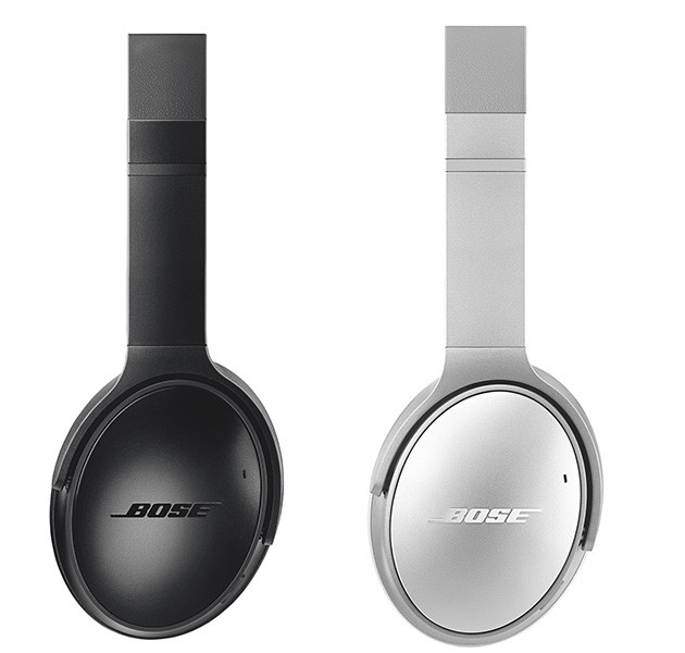 Bose QuietComfort 35 II i sølv og sort