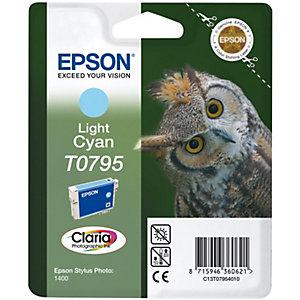 EPSON CLARIA BLEKKPATRON T0795 (LYS CYAN