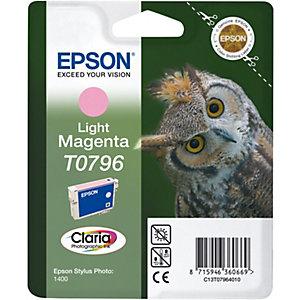 Epson Bläckpatron (ljus magenta) T0796 Claria