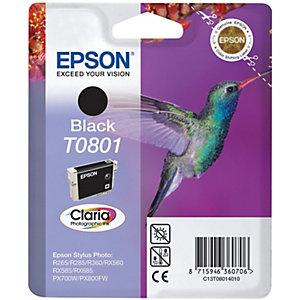 Epson Bläckpatron (svart) T0801 Claria