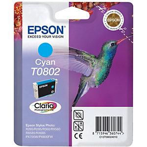 Epson Bläckpatron (cyan) T0802 Claria